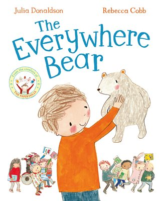 Book cover for The Everywhere Bear